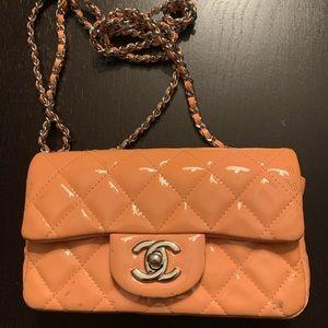 *Authentic* Chanel Patent Mini Rectangle
